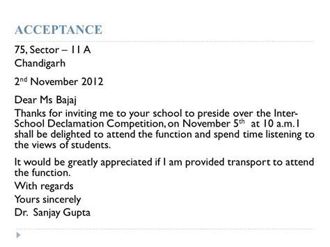 Invitation Letter Format For Inter School Competition Invitations Invitations Ppt