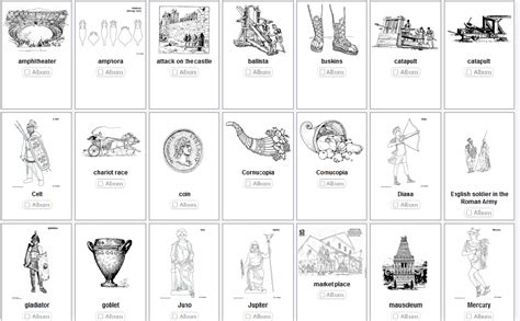As The Romans Do Roman Colouring Pages Ancient Rome Printable Coloring