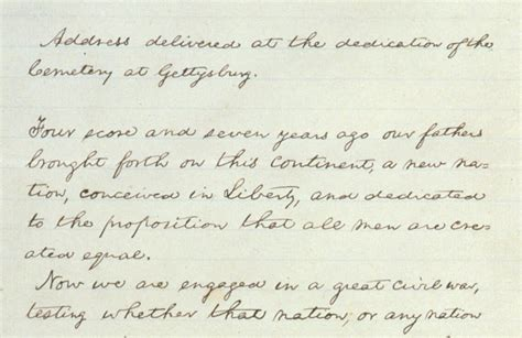 The Gettysburg Address Essay by President Obama S Handwritten Essay Marking The 150th Anniversary Of The Gettysburg Address