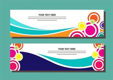 banner designs free vector for free download about 214 772 free vector