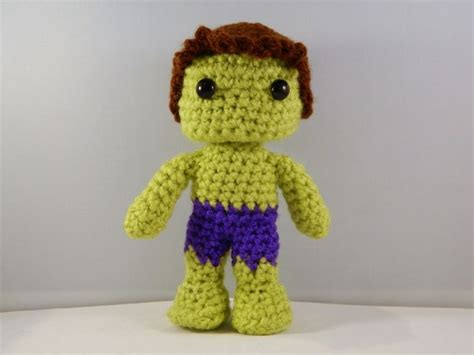 amigurumi hulk pattern the hulk avengers movie inspired crochet amigurumi comic