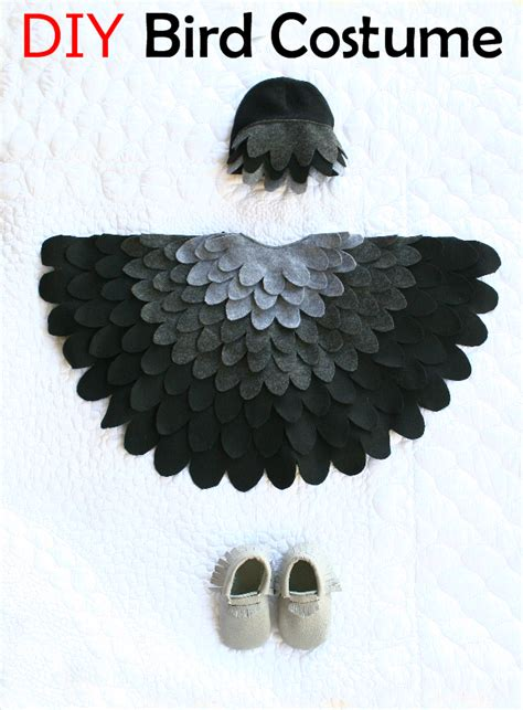diy bird costume costume