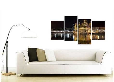canvas for living room sikh canvas wall of golden temple amritsar for your