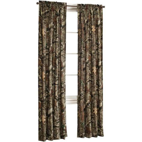 mossy oak window curtains mossy oak break up infinity 2 pack rod pocket back tab