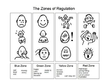 printable zones of regulation zones of regulation coloring sheet updated 1 7 17 by