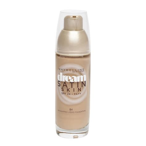 Maybelline Satin Skin 10 feather light foundations that are for the rains