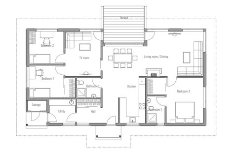 affordable floor plans to build affordable home plans affordable home plan ch31