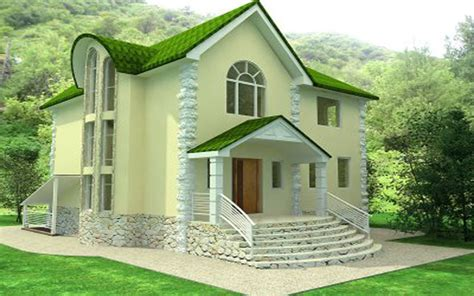 design your own green home architecture the attractive green with fersh and natural