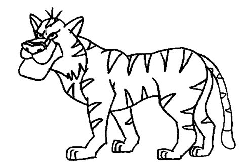 jungle animals coloring pages coloringpagesabc com