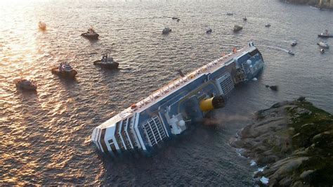 titanic boat cost in pictures first anniversary of costa concordia s