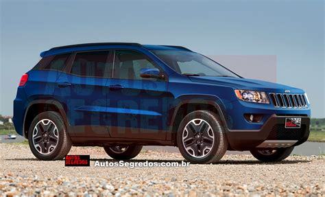 Jeep Compass Replacement Jeep 551 Will Probably Be Named Compass Motorchase