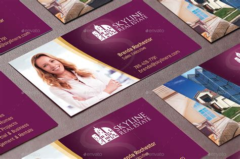 3 Stylish Real Estate Business Card Templates by Real Estate Business Card Template By Godserv2 Graphicriver