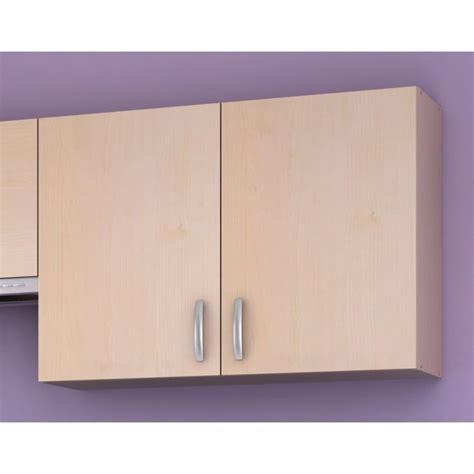 meuble cuisine haut paprika meuble de cuisine haut 100 cm 2 portes achat