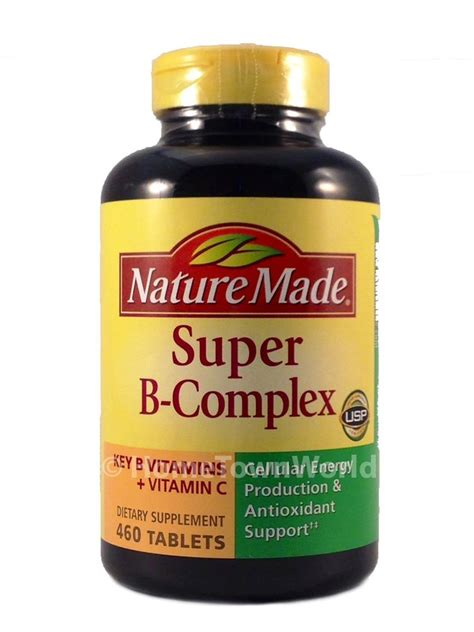 Vitamin B Kompleks By Phapros nature made b complex 460 tablets with vitamin c