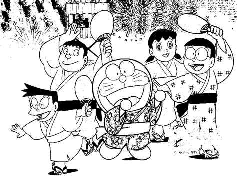 Doraemon Coloring Pages Doraemon Coloring In Pages Kids And His Friends Coloring Pages