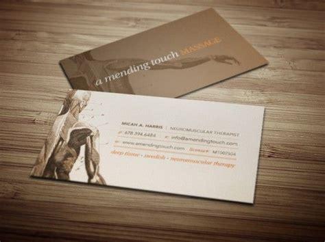 Gift Card For Massage - a mending touch massage business cards businesscards pinterest massage business
