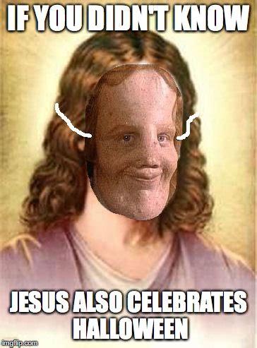 Meme Generator Jesus - jesus halloween mask imgflip