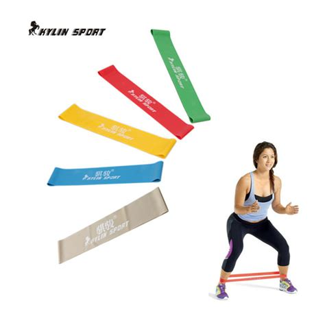 Pull Up Resistance Band Fitness five colors available assist resistance bands crossfit exercise pull up ankle fitness