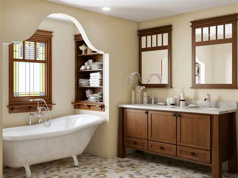 Craftsman Style Bathroom Ideas Craftsman Bathroom Remodel Craftsman Bathroom Seattle By Creek Cabinet Company