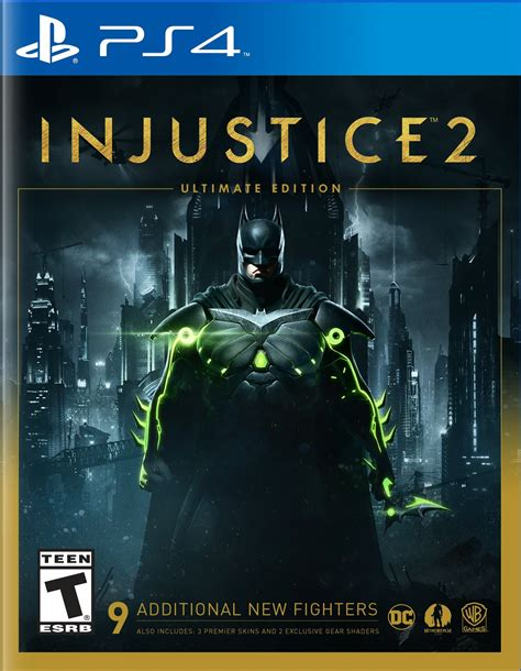 Ps4 Injustice 2 New injustice 2 ultimate edition release date xbox one ps4