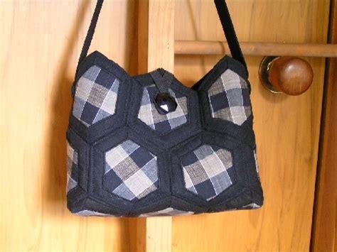quilted hexagon bag pattern felt