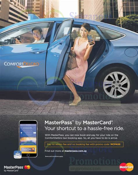 comfort taxi booking fee comfort delgro taxi booking app fee waiver masterpass
