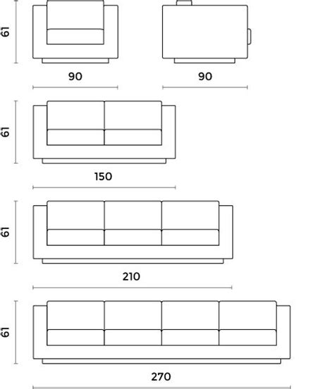 standard couch size  seater sofa dimensions