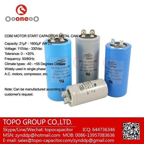 single capacitor ac application single phase capacitor 400v cd60 motor starting capacitor buy air compressor