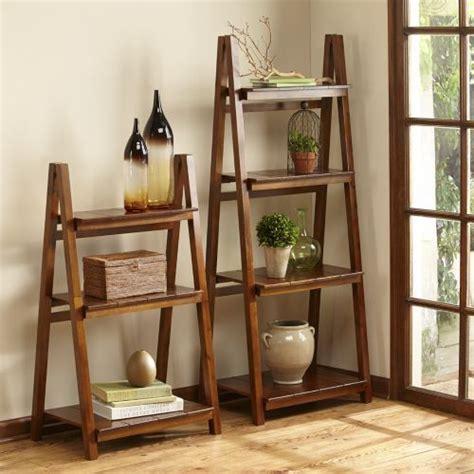 Origami Shelves Costco - ladder shelves designed to fold for convenient storage