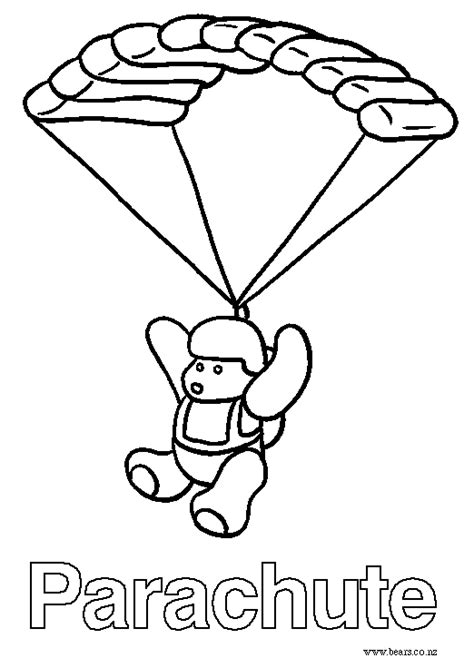 Parachute Coloring Pages Az Coloring Pages Parachute Coloring Pages