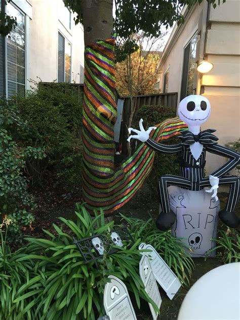 Skellington Yard Decoration by 17 Best Images About On