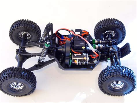 Twin Hammers scale SCT conversion project RCCrawler