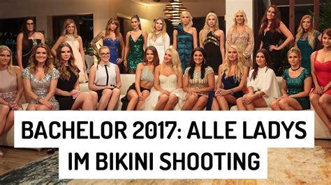 Watch The Bachelors 2017 Bachelor 2017 Hei 223 E Bilder Alle Kandidatinnen Im Bikini Youtube