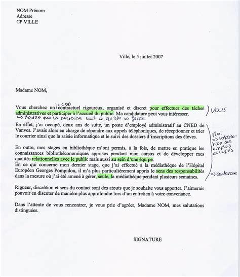 lettre de motivation en anglais exemple gratuit de lettres anglais