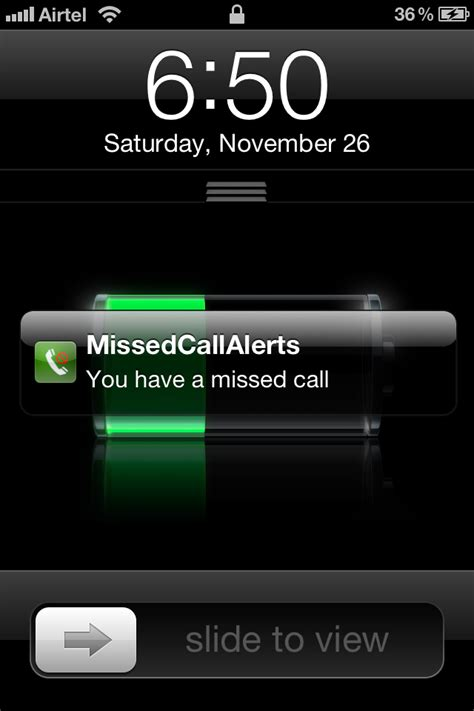 missed call alert iphone image search results