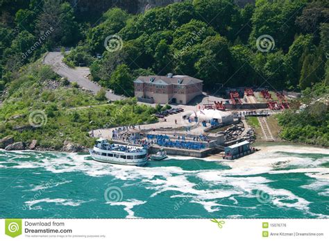 niagara falls boat tour january maid of the mist tour boat editorial photo image of