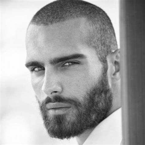 full view of detached haircut for men 30 low maintenance haircuts for men thick beard