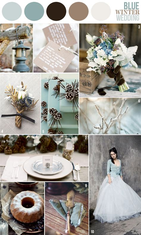 Hochzeit Winter by Winter Wedding Color Schemes