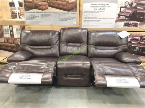 pulaski leather reclining sofa costco leather sofa roselawnlutheran