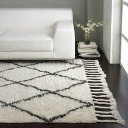 Nuloom Moroccan Trellis Shag Rug nuloom knotted moroccan trellis shag wool rug 5 x 8
