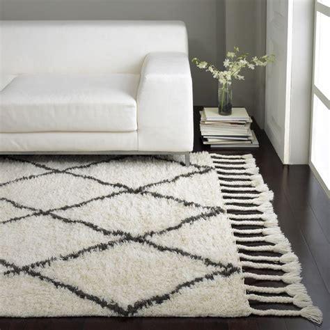 moroccan trellis shag rug nuloom knotted moroccan trellis shag wool rug 5 x 8