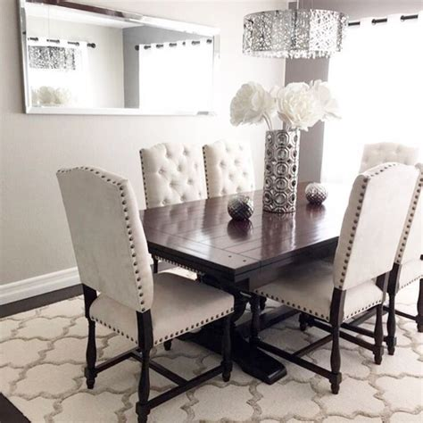 black and white dining room ideas best 25 white dining rooms ideas on white