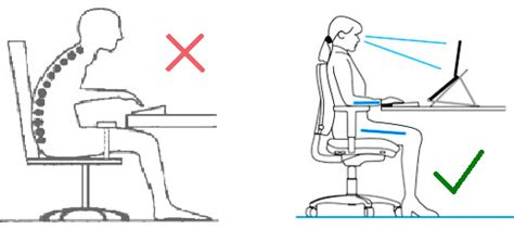 how to keep posture at a desk 6 ways to prevent neck or back and improve posture at