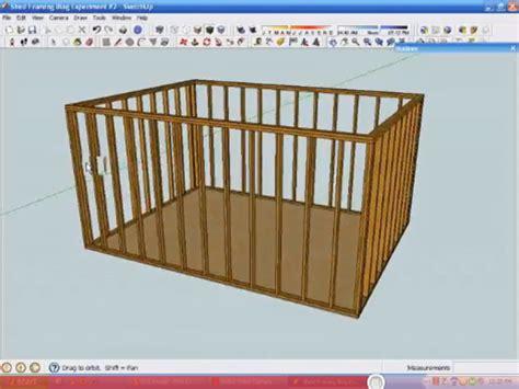 sketchup  create   framing model fine homebuilding