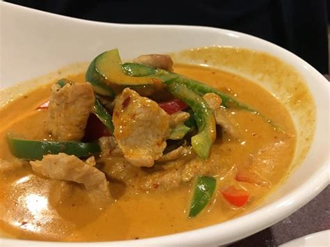 Panang Curry Taste panang curry picture of thai 55 durham tripadvisor
