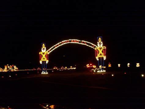 lights of christmas at bristol motor speedway