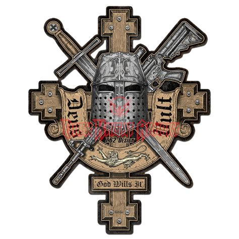 deus vult cross sign pt vrs004 from dark knight armoury