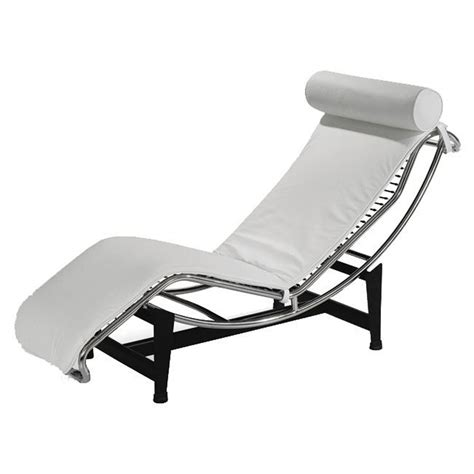 White Chaise Lounge White Leather Chaise Lounge Www Imgkid The Image Kid Has It