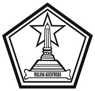 logo pemkot hitam putih gugus  kecamatan blimbing kota