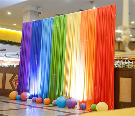 Wedding Background Decoration Ideas by Compare Prices On Rainbow Backdrop Shopping